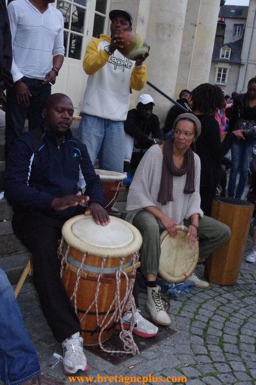 Vendredi 21 juin, premier jour de l' été. Se déroulait à Rennes, la Fête de la Musique.