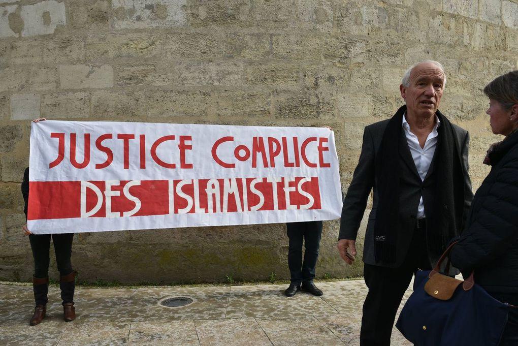 Bordeaux pour la liberté d'expression (photos et vidéos)