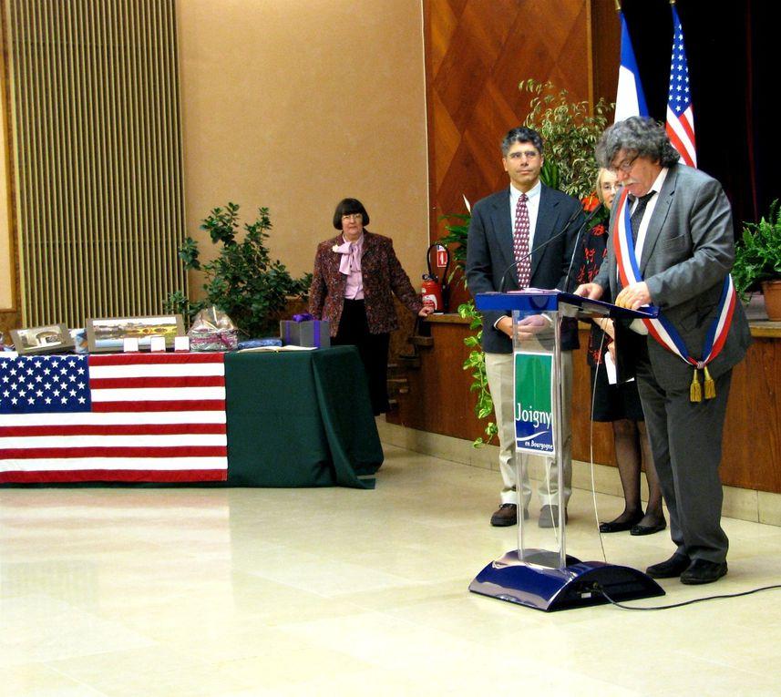 Samedi 12 octobre 2013 : Cérémonies Officielles des 20 ans du Cercle Franco-américain.