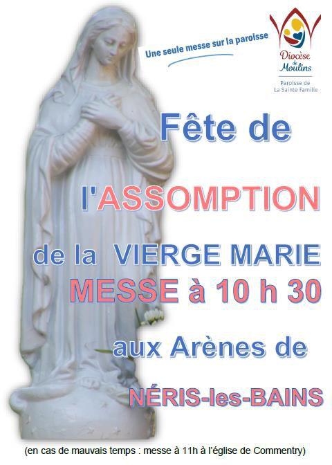 Messe du 15 août 2021