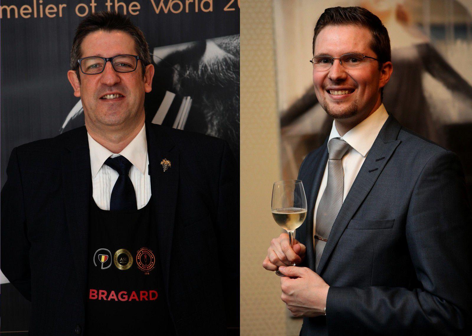 Les deux candidats qui ont participé à la sélection. (Photos JB)
