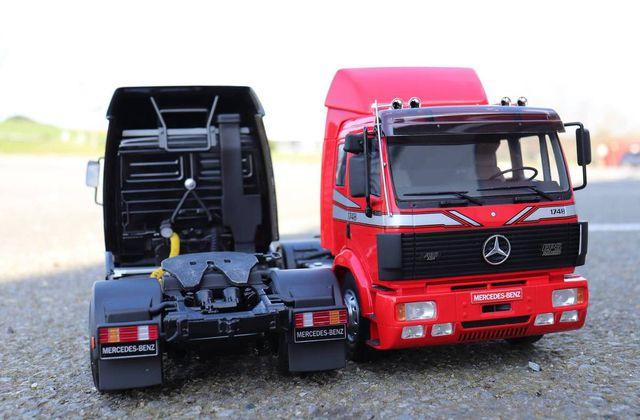 1/18 : Le camion Mercedes SK 1748 en miniature