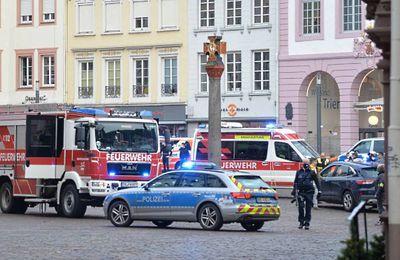 Allemagne : une voiture percute des passants dans une zone piétonne de Trèves