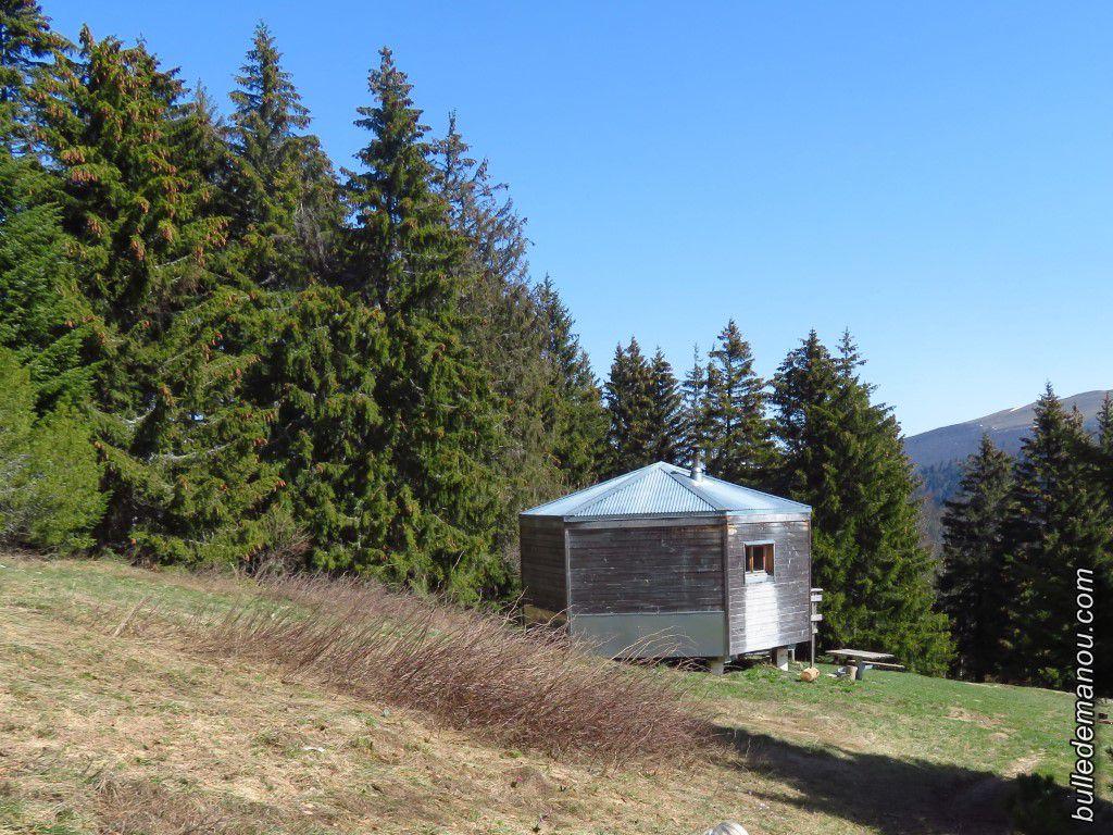 Le refuge du col de Vassieux (1363 mètres)