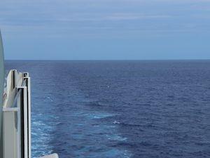 Voyage incitatif 2014 - Jour 2 en Mer