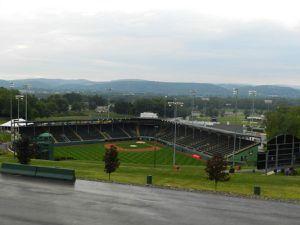 Le stade de base-ball