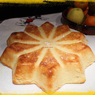 Gâteau italien à la ricotta et semoule