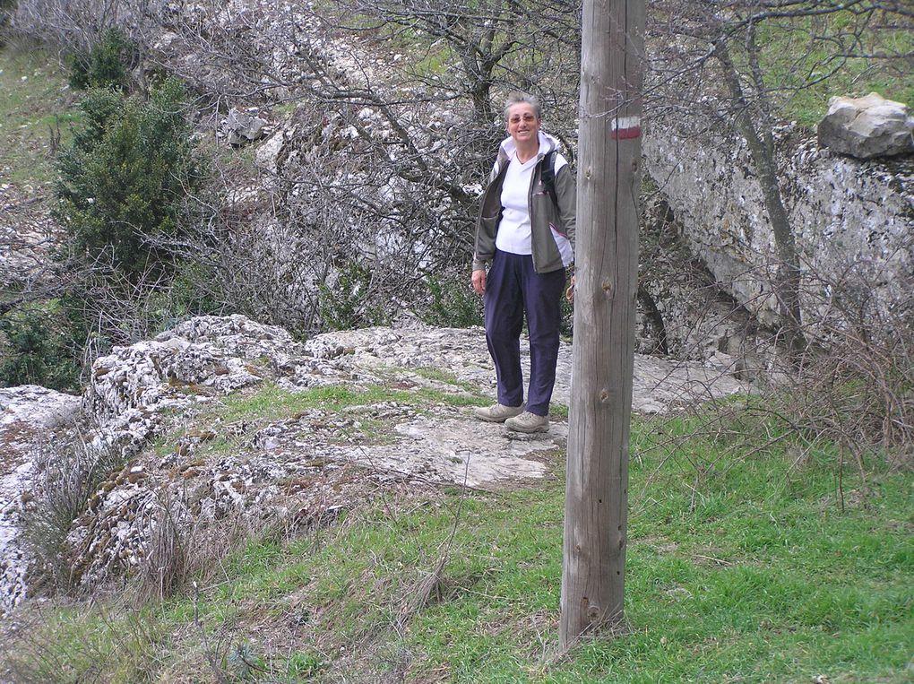 Balade autour de Rompon, à la recherche des sources.... 20 mars 2010
