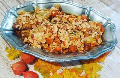 Tajine de poulet sucré/salé au Cookéo