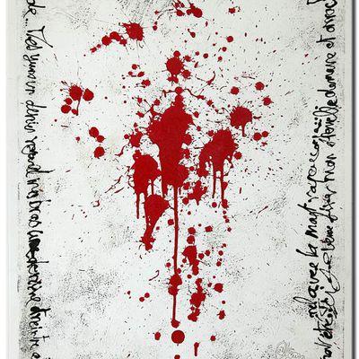 "Peinture : ""Eternel Contrat""..."
