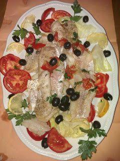 Merluzzo in filetti con pomodori pachino
