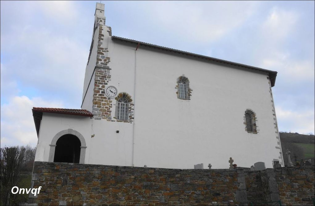 Eglise Sainte-Eulalie, Isturits (Pyrénées-Atlantiques 64) AA