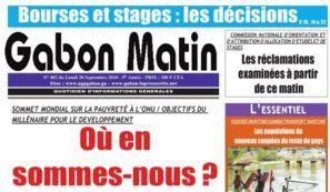 Gabon Matin en difficulté de trésorerie