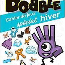 Mon cahier de jeux Dobble - spécial Hiver