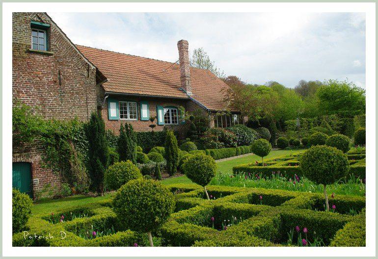 Le jardin des Récollets (Cassel 59) en mai 2013