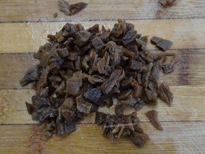 Tartelettes aux cèpes et pancetta