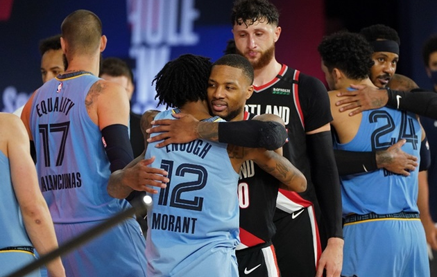 Portland remporte le play-in contre Memphis et retrouvera les Lakers en playoffs
