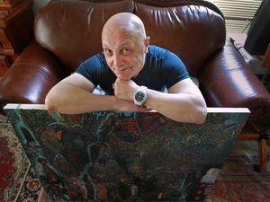 Doug Costello, une imprimante et Jean Michel Zavodnik.