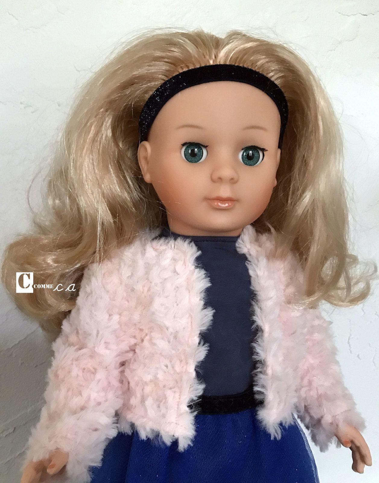 Petite variante de coiffure : Marie-Françoise a mis le bandeau comme sur le catalogue de la boutique d'Etain. C'est moins seyant !