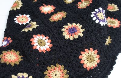 Blanket for english TV screen