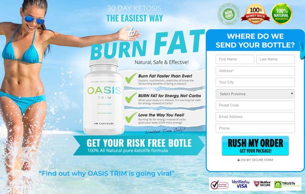 Oasis Trim:-Reach Your Weight Loss Goals!!!