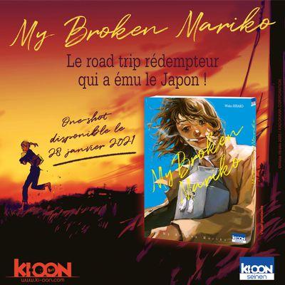 """""""My Broken Mariko"""" : un récit à cœur ouvert à paraître chez Ki-oon !"""