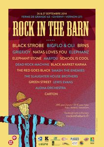 Festival ROCK IN THE BARN 2014