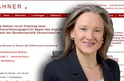 """Allemagne. La police emmène l'avocate """"Coronoia"""" Bahner à l'hôpital psychiatrique (T-Online.de)"""