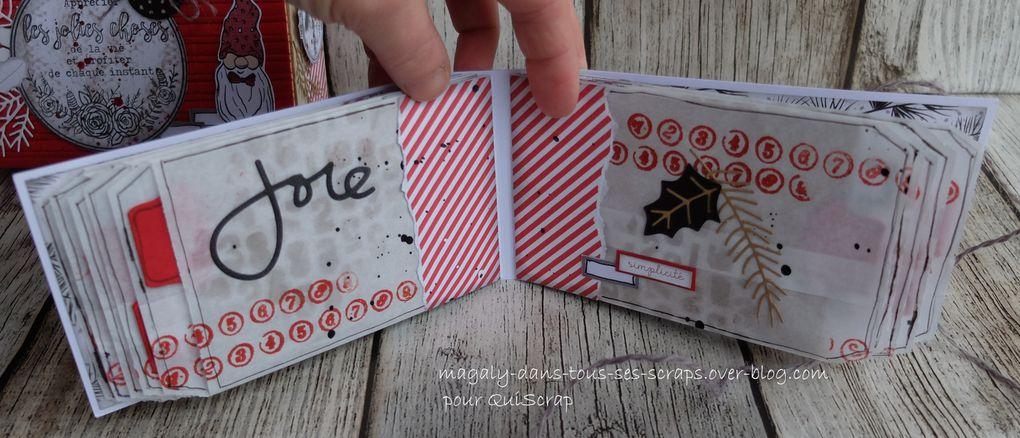 """Tutoriel Mini-album """"Moments"""" - {Box de janvier} QuiScrap"""