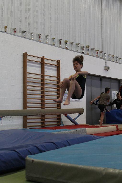 L'AS gymnastique se déplace au club de Villeneuve pour vivre de nouvelles émotions...