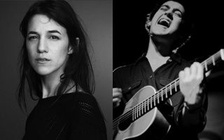 Charlotte Gainsbourg with Villagers
