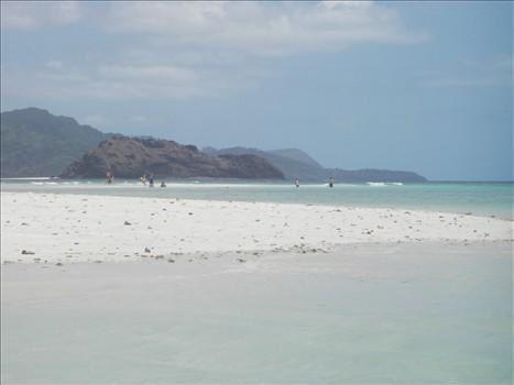 Une semaine avec Emilie et Sébastien... Journées plages à Sakouli, N'gouja, sortie bateau avec gros temps, mangrove, îlot blanc mais pas une baleine ou dauphin au RDV et finalement quelques restos...
