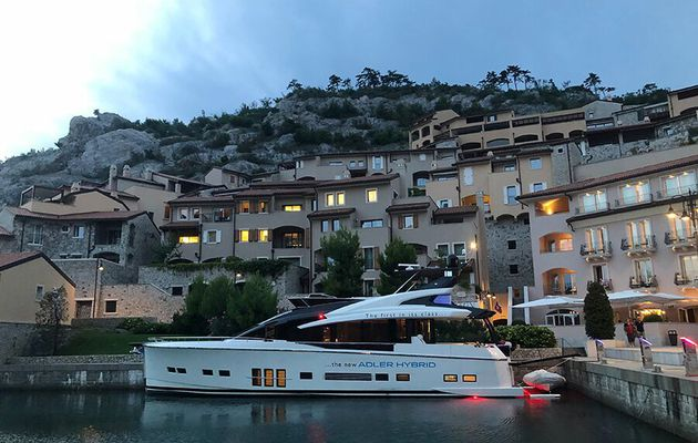 Adler Suprema Hybrid embarks on her first charter season