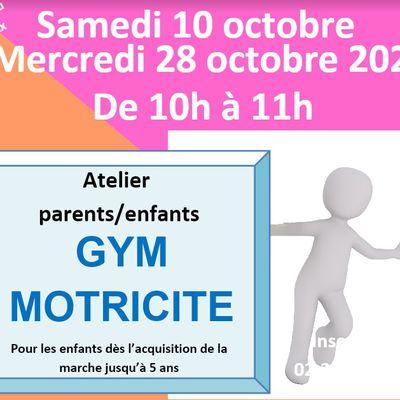 gym/motricité le 10 Octobre