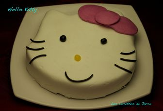 Gâteau Hello Kitty