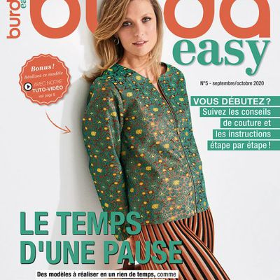 Magazines de septembre 2020: Burda easy (couture facile)