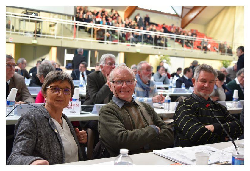 Des délégués du Val de Saire et de la région de Montebourg