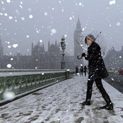 Paris / London : snow alert