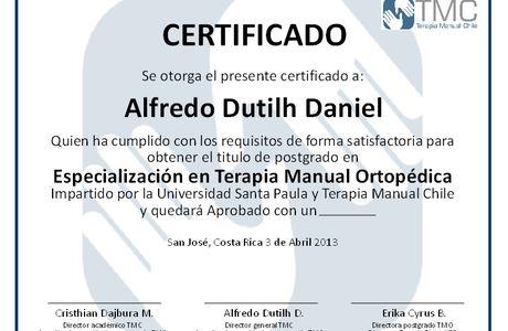 Diseño e Impresión de Certificados para TMC