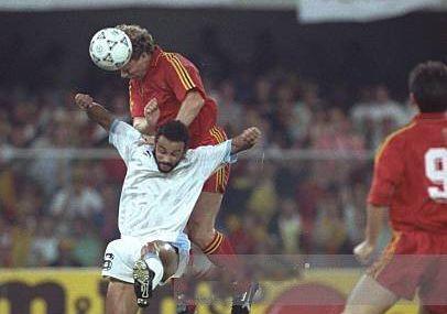 Coupe du Monde 1990 en Italie, Groupe 5: Belgique - Uruguay