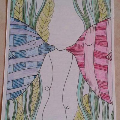 Carte coloriée 14