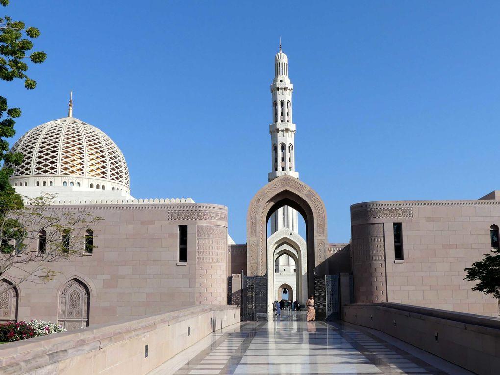 Retour, Emirats, Oman jusqu'au sud
