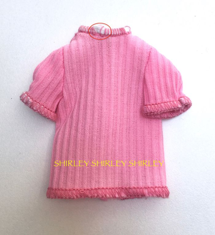 """""""FASHION COLLECTIBLES"""" FOR SKIPPER DOLL 1980 MATTEL #1381"""