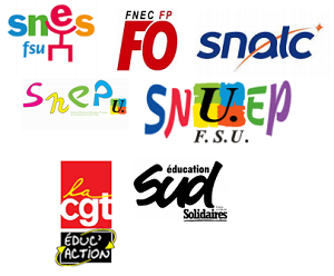 Communiqué commun SNES-FSU, SNEP-FSU, SNUEP-FSU, FNEC FP-FO, SNALC, CGT-Educ'action, SUD Education