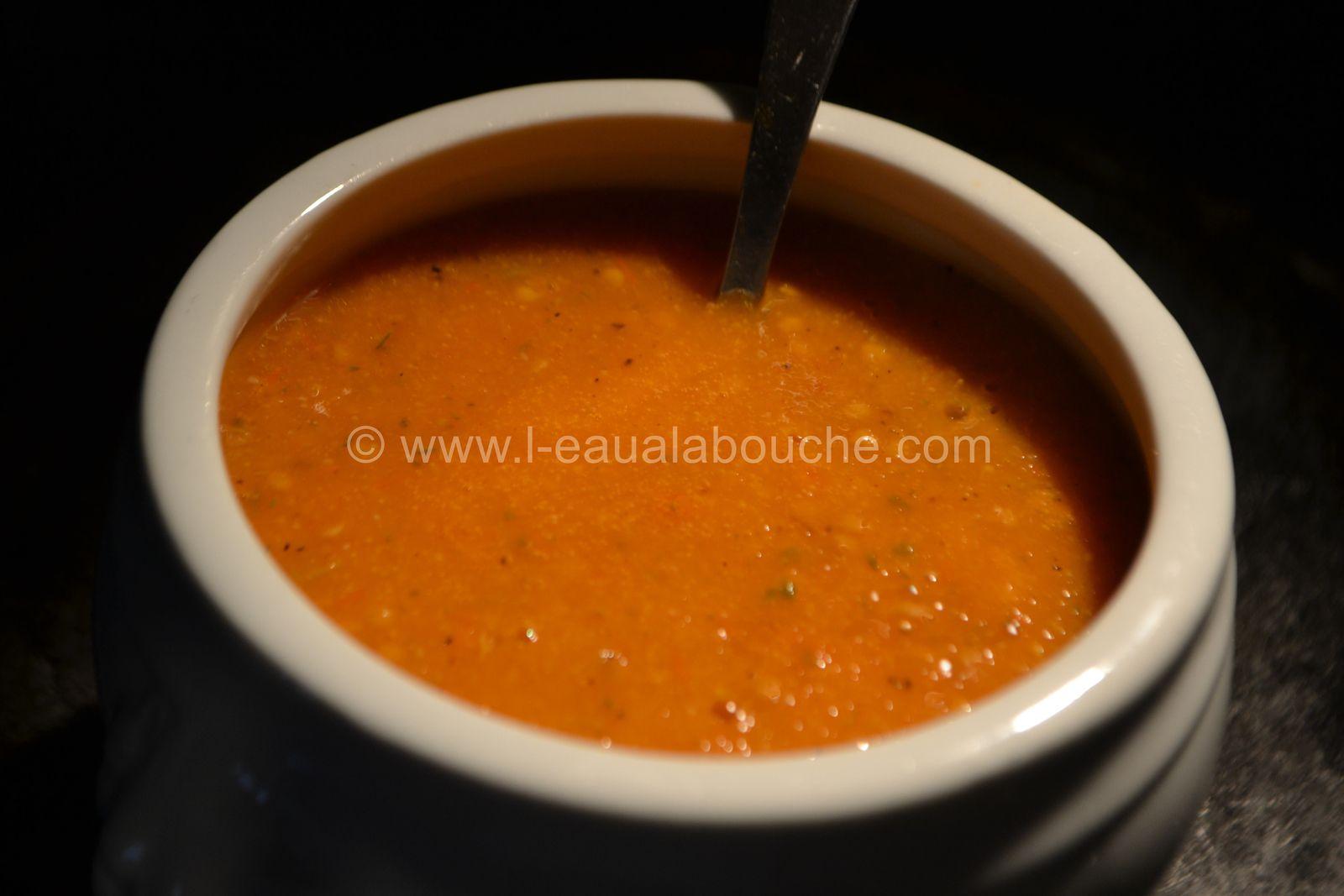 Rôti de Porc Basse Température Sauce à la Pulpe de Tomates