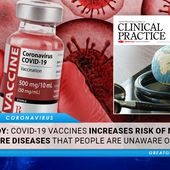 STUDY: COVID-19 Vaccines Increases Risk Of More Severe Diseases That People Should Be Made Aware Of | GreatGameIndia