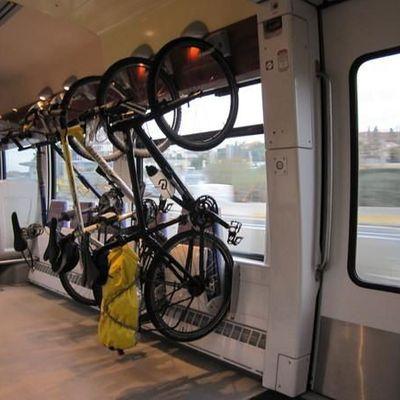 Emplacements vélos dans les TER