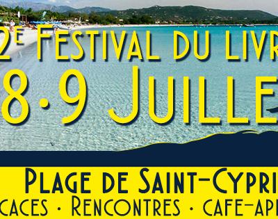 Festival du livre à Lecci - Porto-Vecchio (CORSE) les 7-8-9 juillet 2017