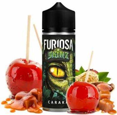 Test - Eliquide - Caraka gamme Furiosa Skinz de chez Vape 47