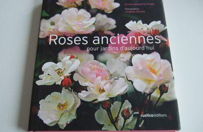 Premier article sur mes livres de roses